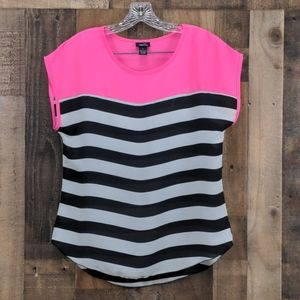 Rue 21 Pink Blouse Size M